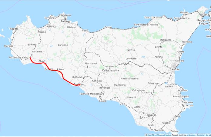 Nuova linea Castelvetrano-Porto Empedocle