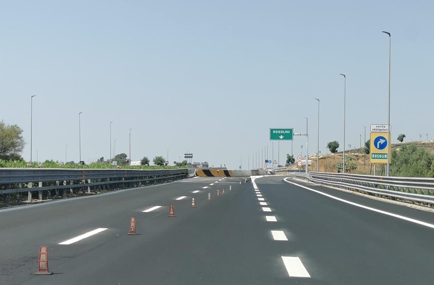 autostrada Rosolini Pozzallo